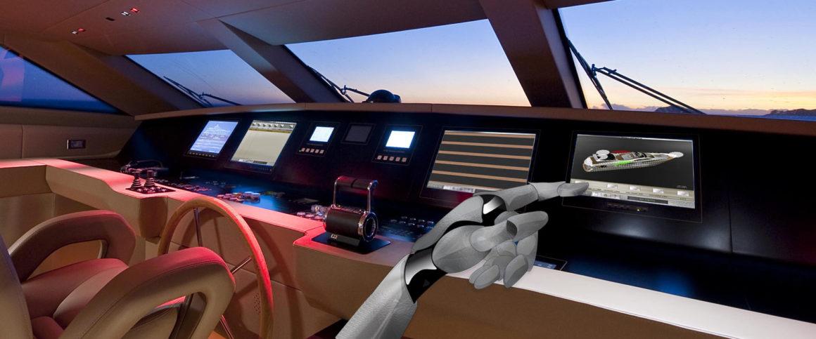 interfaccia grafica per pannelli di controllo e monitoraggio